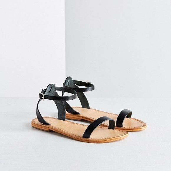 c5c949b08f Urban Outfitters Shoes | Hazel Leather Thin Strap Sandal | Poshmark